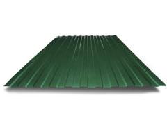 Профлист Н60 зелёный мох (0,5 мм)
