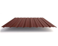 Профлист Н60 коричневый (0,5 мм)