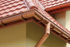 Металлические водосточные системы из меди или оцинкованной стали