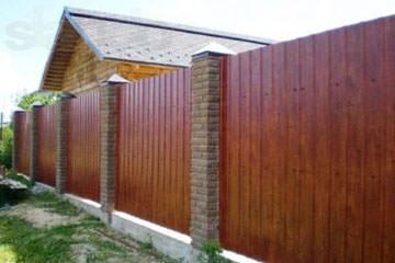 Забор из профлиста С8
